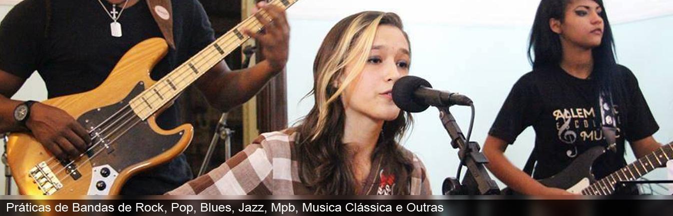 Allemande Escola de Música - Aula de Canto