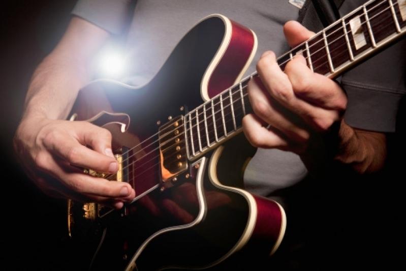 Aula de Guitarra Valores no Jardim França - Aula de Guitarra em São Paulo