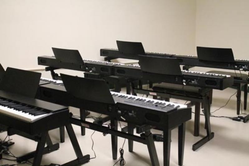 Aula de Piano Avançado Preços em Cachoeirinha - Aulas de Tocar Piano