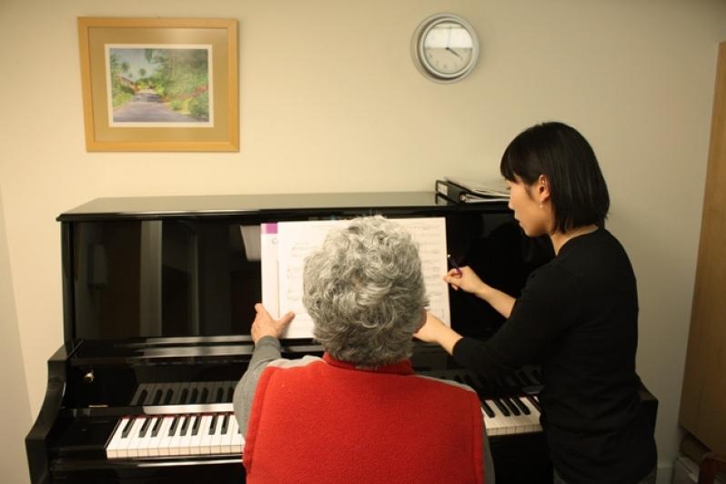 Aula de Piano Avançado Qual o Preço no Tremembé - Aula de Piano Iniciante