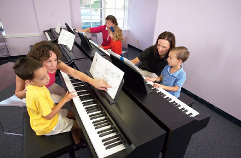 Aula de Piano Clássico Onde Encontrar no Tremembé - Aula de Piano Particular