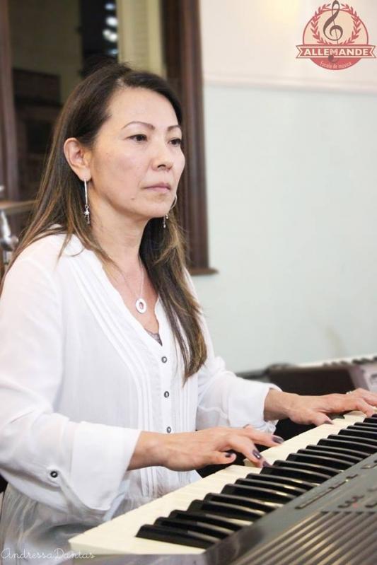Aula de Piano Clássico Quanto Custa no Mandaqui - Aula de Piano Intermediário