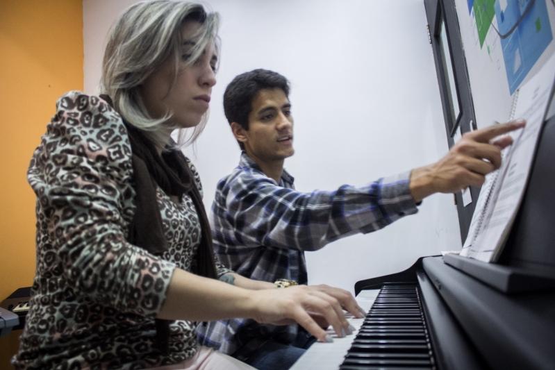 Aula de Piano no Jardim França - Aula de Piano em Santana