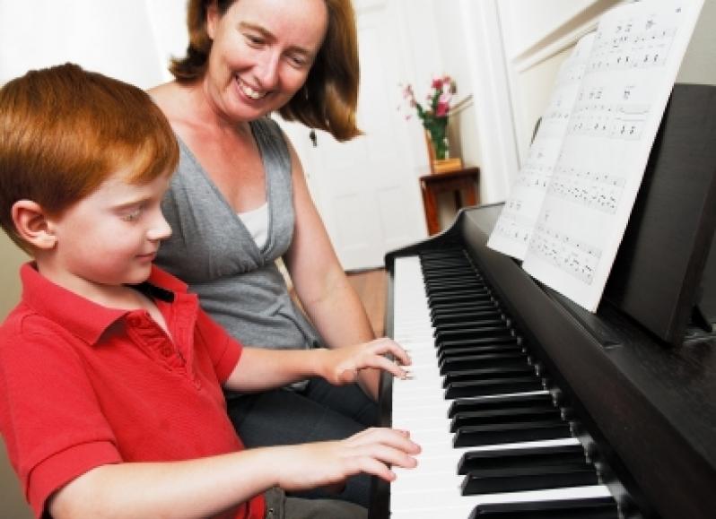 Aula de Piano Qual o Valor no Imirim - Aula de Piano no Carandiru
