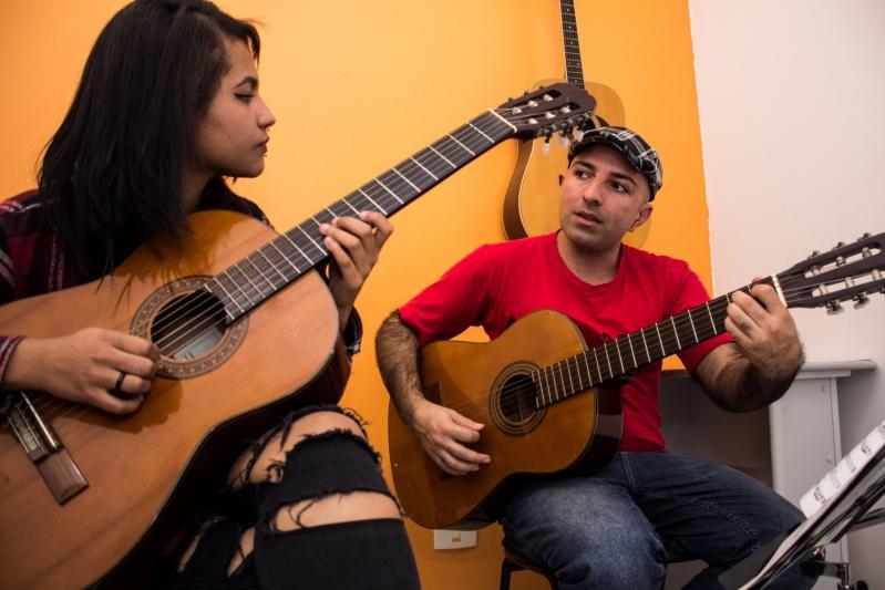 Aula de Violão  em Santana - Aula de Violão Valor