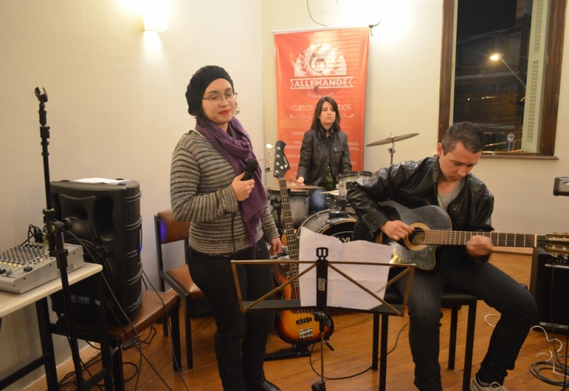 Escola de Canto Onde Localizar no Mandaqui - Aula de Canto Valor