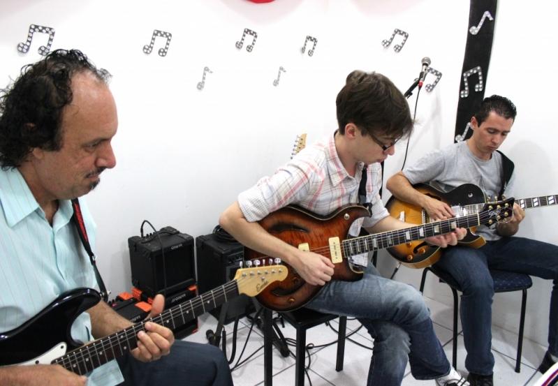 Escola de Guitarra na Lauzane Paulista - Escola de Guitarra