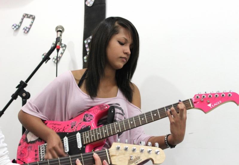 Escola de Guitarra Onde Achar em Brasilândia - Aula de Guitarra na Zona Norte