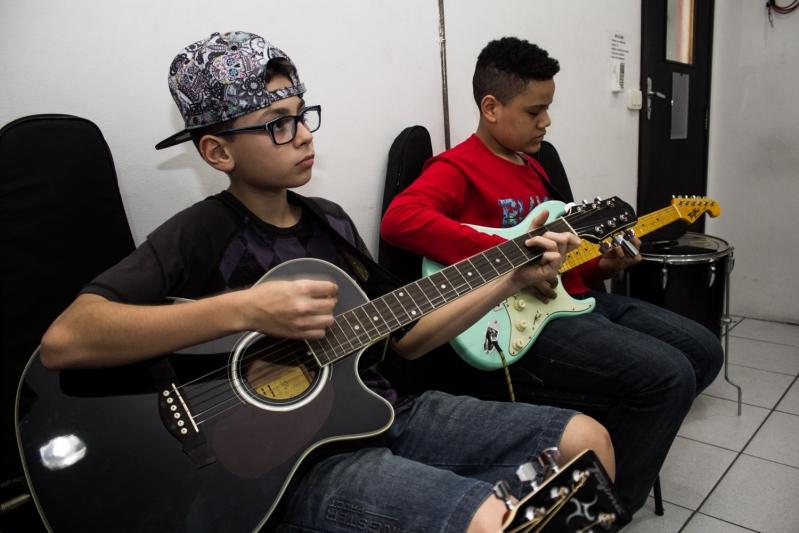 Escola de Musica Onde Achar em Brasilândia - Escola de Musicas