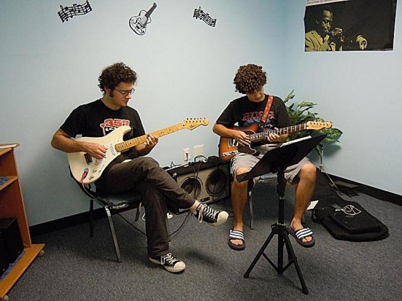 Escola de Musicas Onde Tem no Tucuruvi - Escola Particular de Música