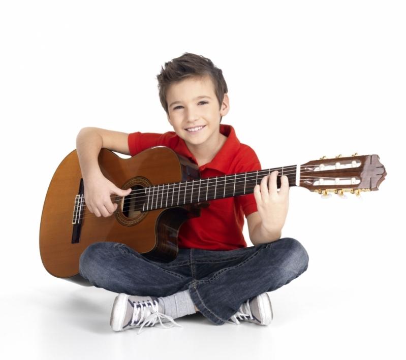 Escola de Violão Infantil no Tucuruvi Vila Gustavo - Escola de Violão para Crianças na Zn