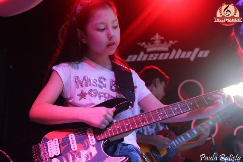 Escola de Violão Onde Tem em Santana - Quanto Custa Aula de Violão