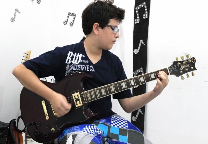 Onde Encontrar Escola de Guitarra em Cachoeirinha - Escola de Guitarra