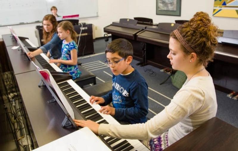 Onde Fazer Aula de Piano Avançado no Tucuruvi - Aula de Piano Valor