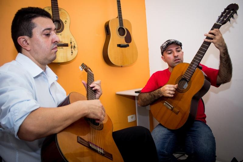 Onde Fazer Aula de Violão  na Lauzane Paulista - Aula de Violãoem Santana