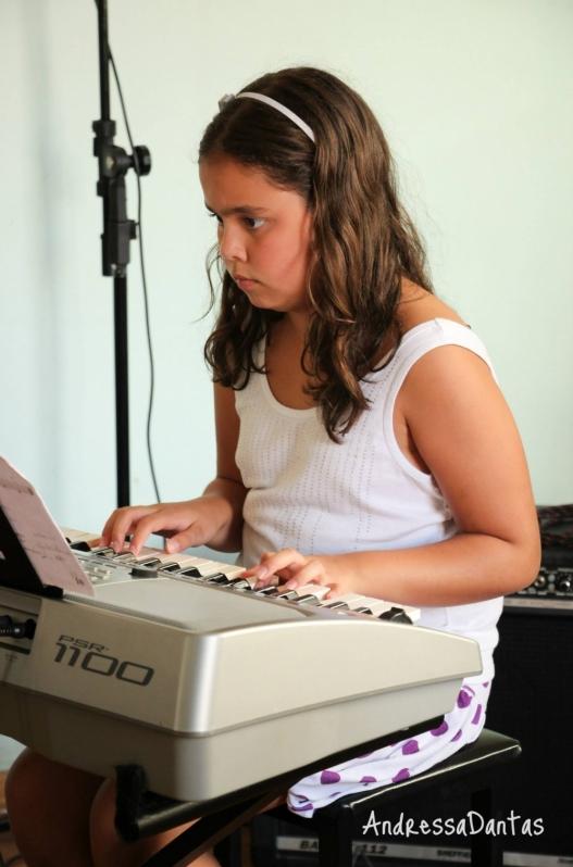 Onde Fazer uma Aula de Teclado em Brasilândia - Aula de Teclado Musical