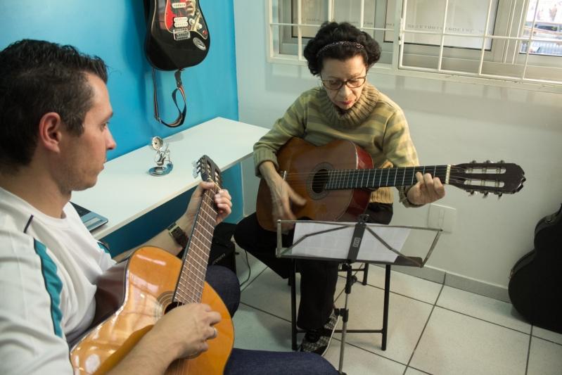 Onde Fazer uma Aula de Violão  na Vila Maria - Aula de Violãoem Santana