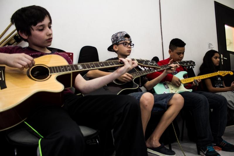Onde Tem uma Escola de Musica na Vila Gustavo - Escola de Música em Santana