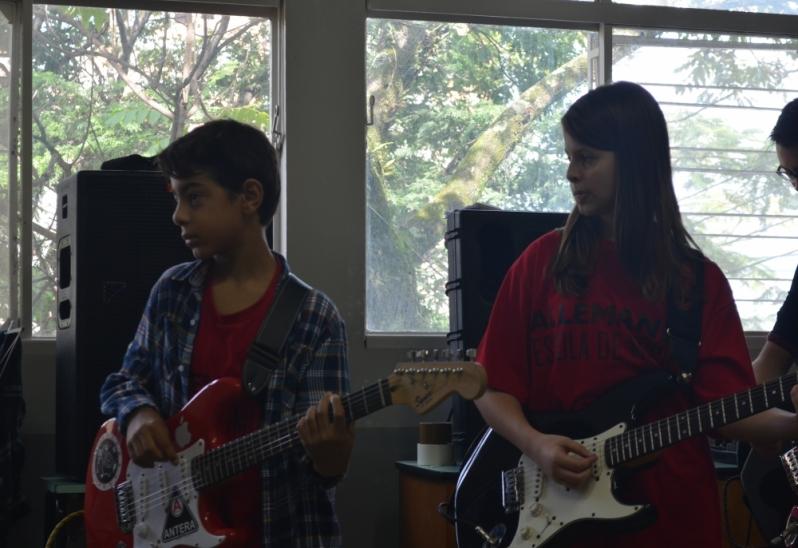 Preço de Escola para Aula Guitarra na Vila Gustavo - Escola de Guitarra