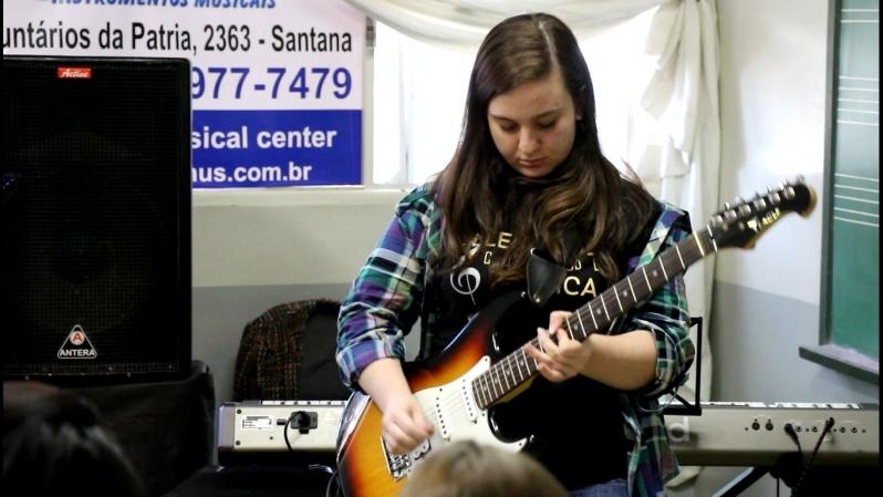 Qual o Valor Aula Guitarra na Vila Gustavo - Aula de Guitarra Valor
