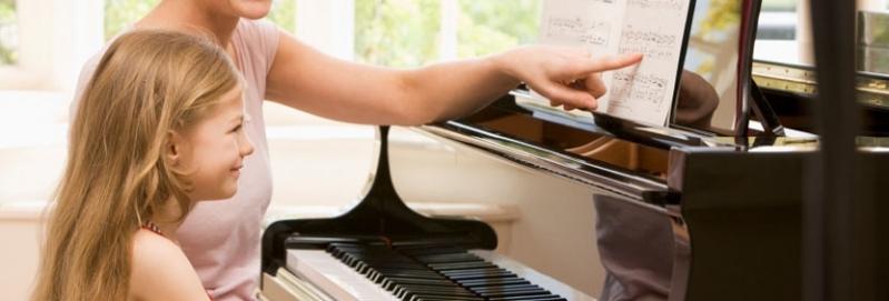 Qual o Valor de uma Aula de Piano Avançado na Lauzane Paulista - Aulas de Tocar Piano