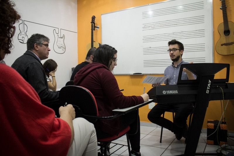 Qual Preço de Escola de Musica  na Lauzane Paulista - Escola de Música em Santana