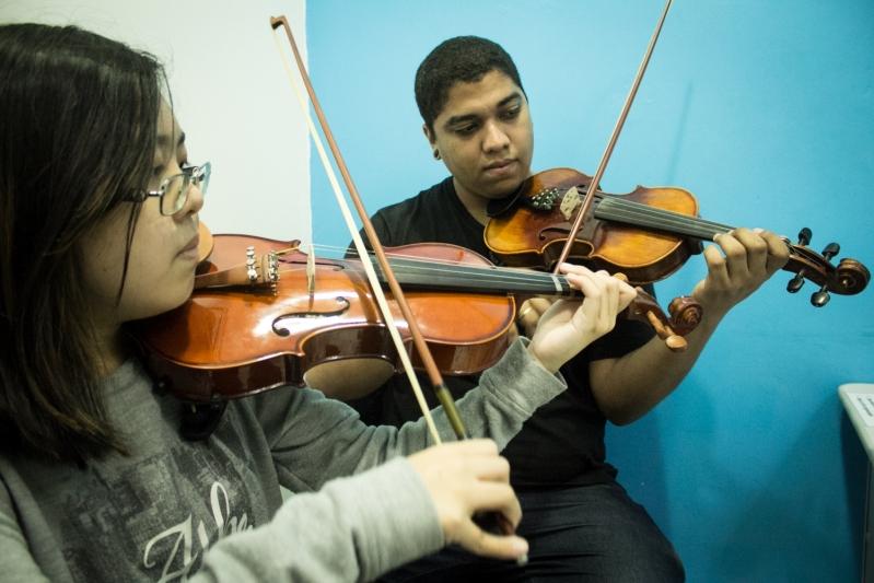 Qual Preço de uma Escola de Musica  em Cachoeirinha - Escola de Musicas