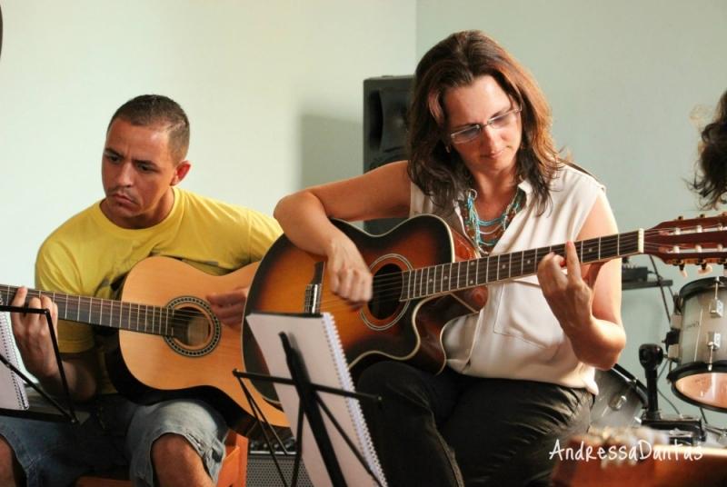 Qual Valor de Aula Particular de Violão em Brasilândia - Aula de Violãoem SP