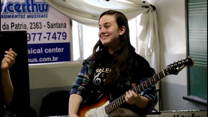 Qual Valor de uma Aula Guitarra na Vila Gustavo - Aula de Guitarra