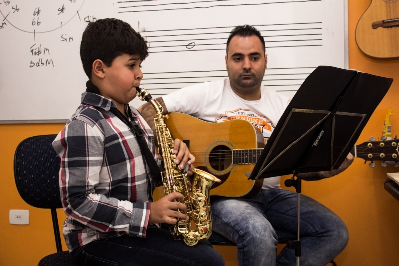 Quanto Custa Escola de Violão Infantil em Santana Jardim São Paulo - Escola de Violão com Coral Infantil
