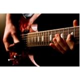 Aula de guitarra preço na Vila Medeiros