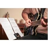 Aula de guitarra quais os valores na Lauzane Paulista