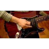 Aula de guitarra valor na Lauzane Paulista