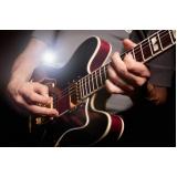 Aula de guitarra valores no Jardim França