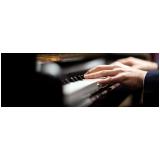 Aula de piano avançado no Imirim