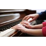 Aula de piano avançado quais os valores na Lauzane Paulista