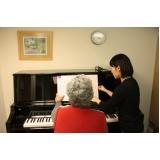 Aula de piano avançado qual o preço no Tremembé