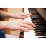 Aula de piano avançado quanto custa em Cachoeirinha