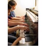 Aula de piano clássico onde achar na Casa Verde