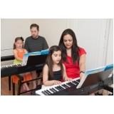 Aula de piano clássico onde tem no Imirim