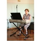 aula de piano de crianças preço Santana