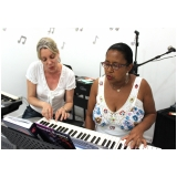 aula de piano para crianças Jaçanã