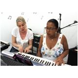 aula de piano para crianças Mandaqui