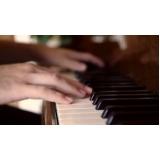 Aula de piano preços no Tucuruvi