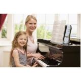 Aula de piano quais os preços no Imirim