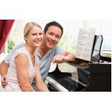 Aula de piano quais os valores no Imirim