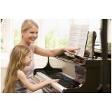 Aula de piano qual o preço na Vila Maria