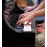 Aula de piano quanto custa na Vila Gustavo