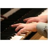Aula de piano valor na Vila Guilherme