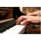 Aula de piano valores em Santana